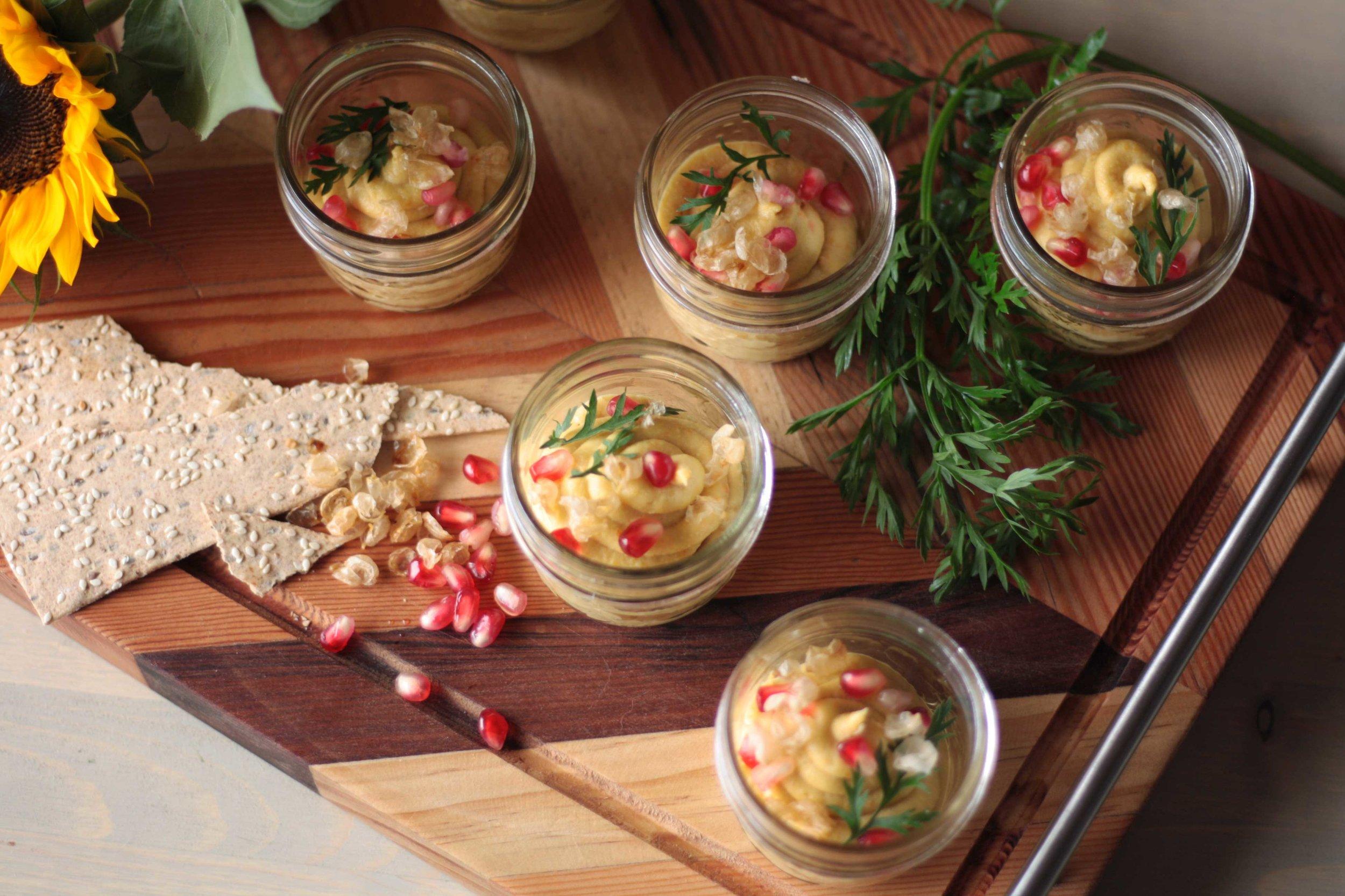 Snack Series: Roasted Carrot Hummus