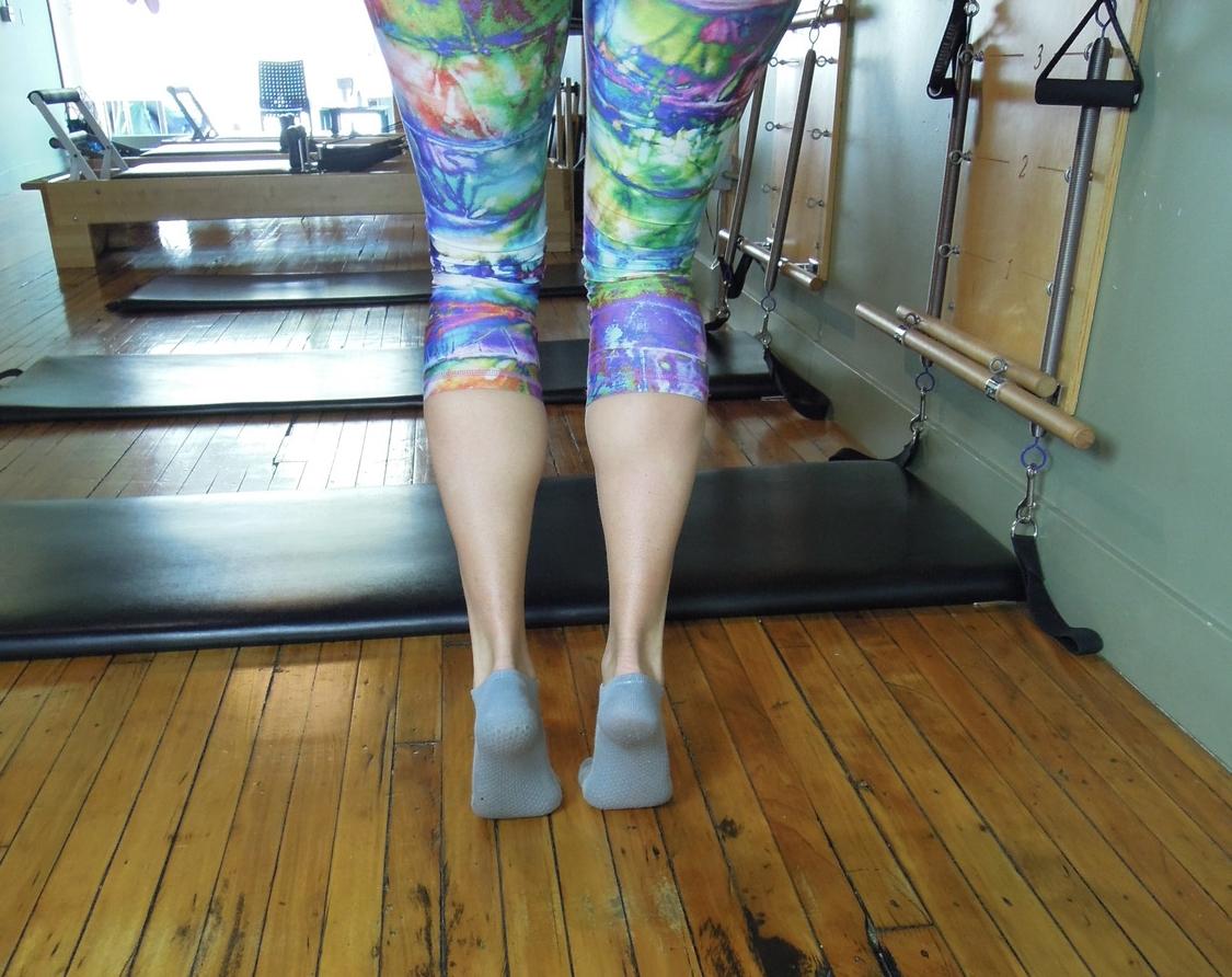 Bent knee calf raise