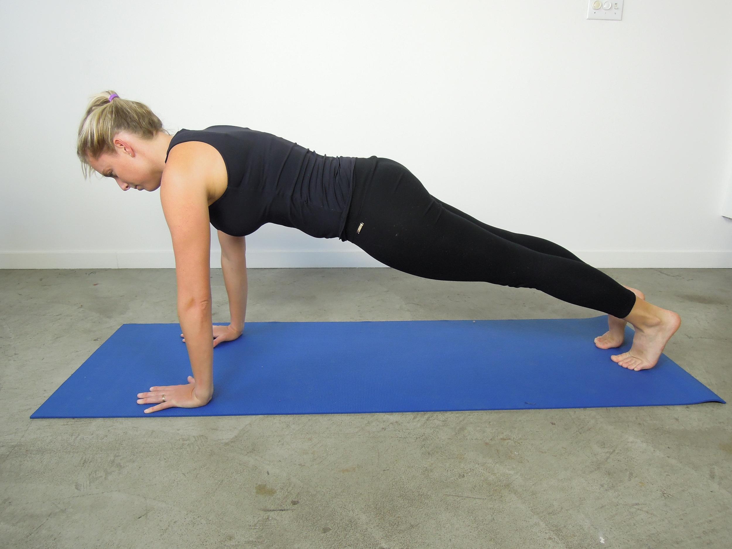 Simple floor plank