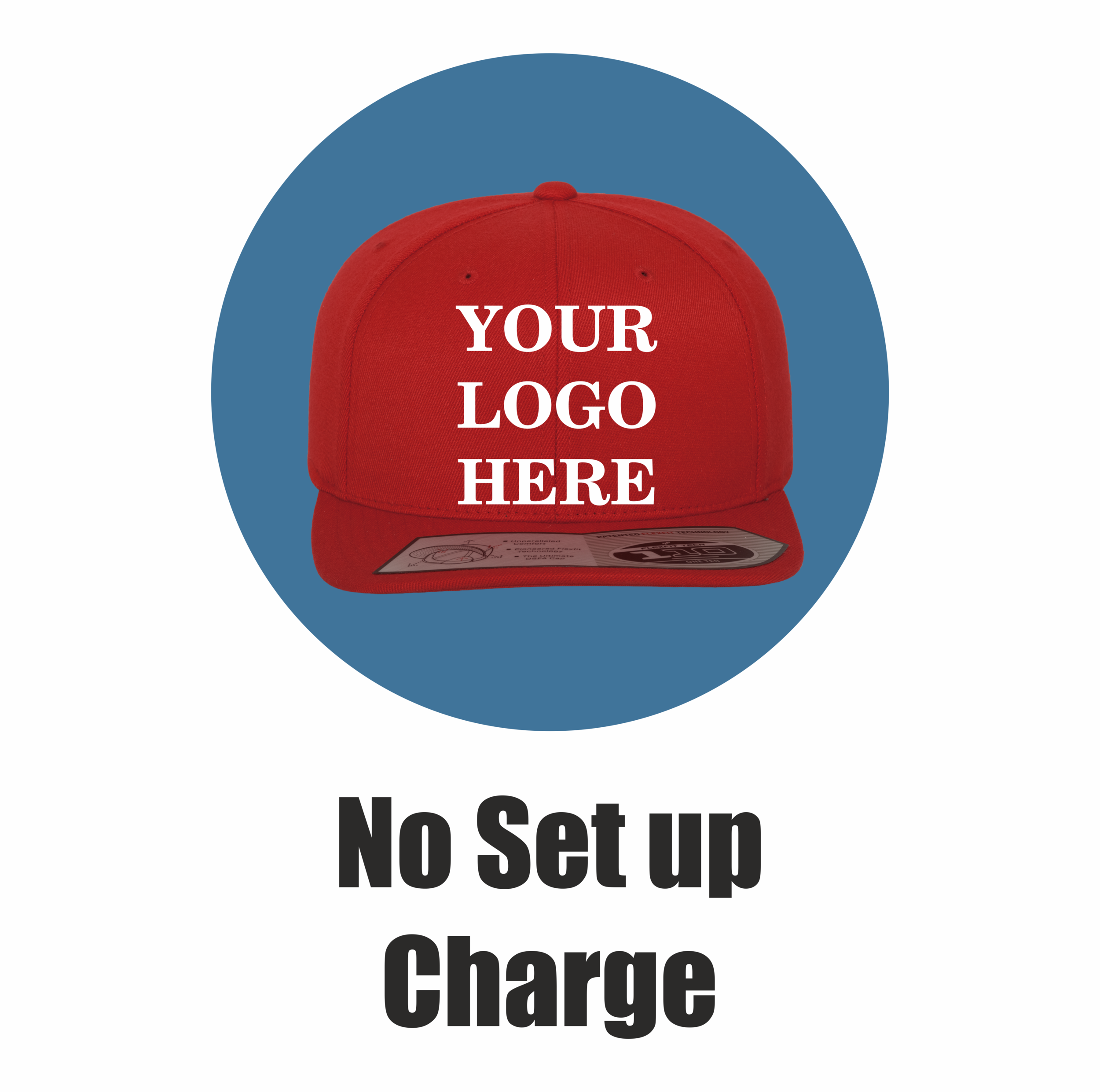Yupoong Flexfit by London Snapbacks No set up charge.png