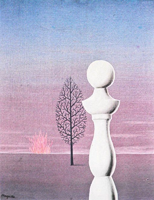 Fashionable People, Rene Magritte.