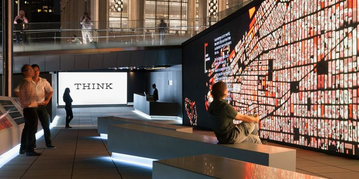 IBM Think, Lincoln Centre, NYC, with RAA