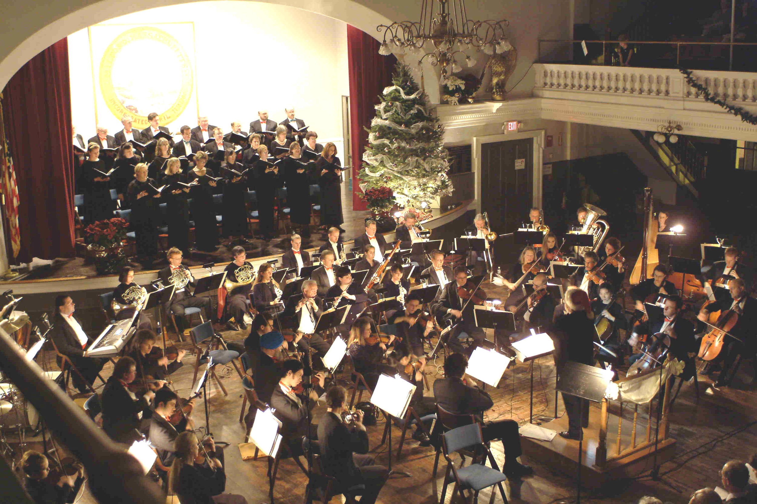 Claflin Hill's Annual Holiday Pops!