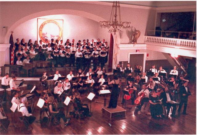 Inaugural concert May 2000