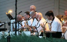 Fantasy Big Band at Family Night at the Bandstand
