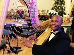 Mason Morton, chso principal harpist