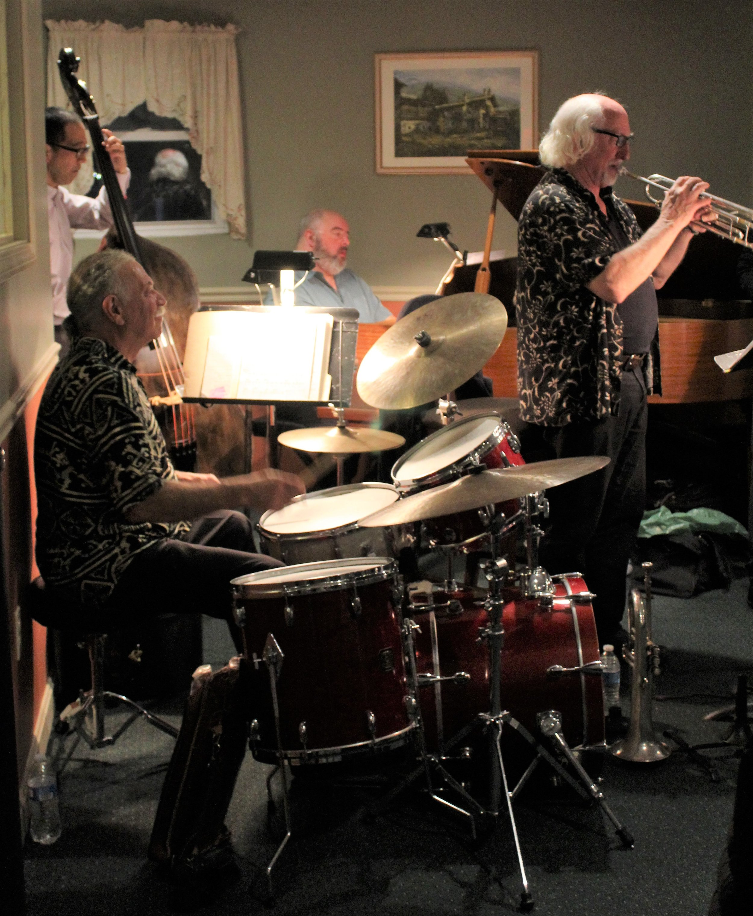 Bobby Tamagni on Drums