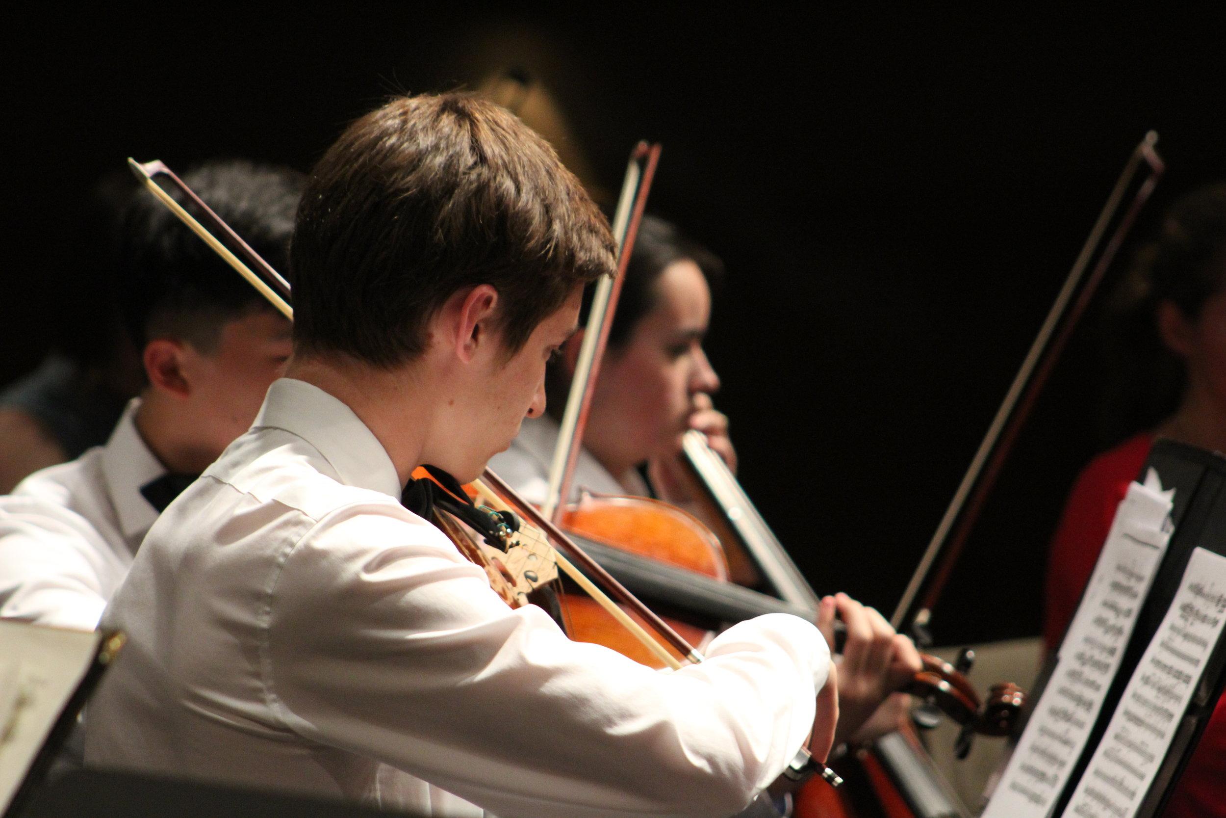 CHYS Spring Concert 14 violins JPG.JPG
