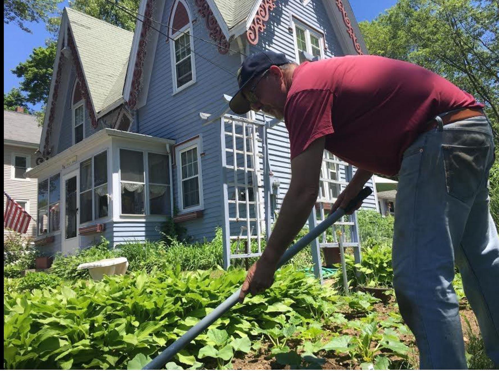 Paul gardening.JPG