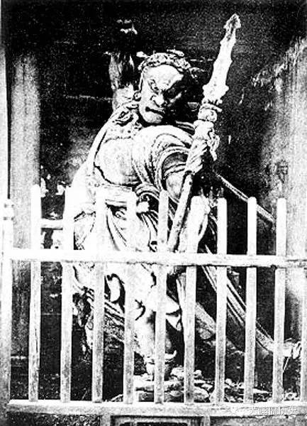 Image from Shaolin Temple prior to its Burning in the 1930s