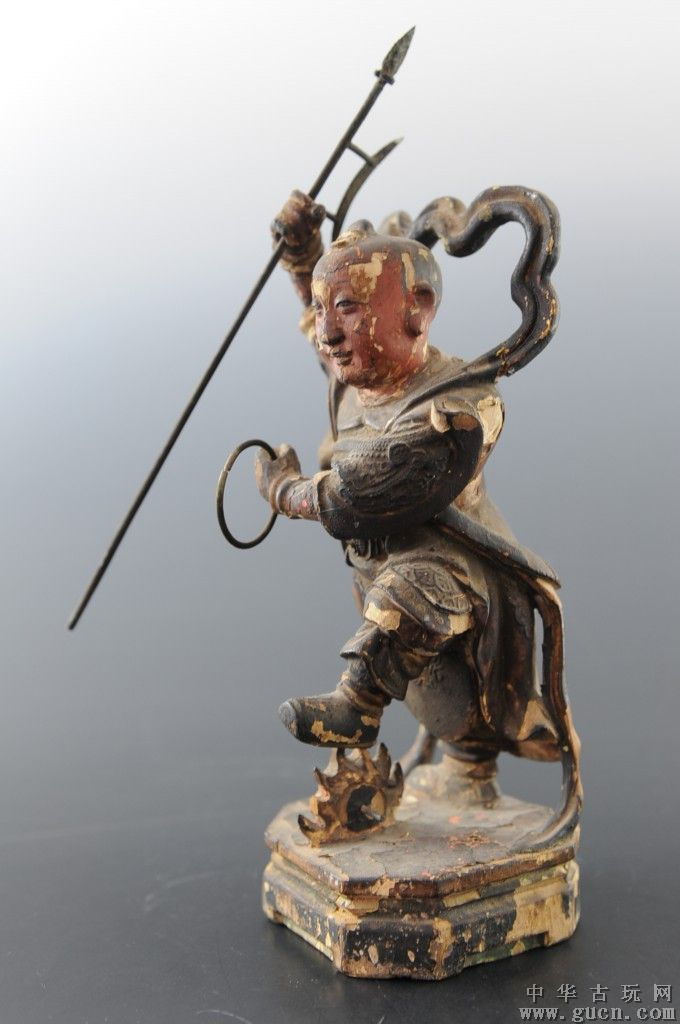 Nezha, the leader of the guardians of the four directions.