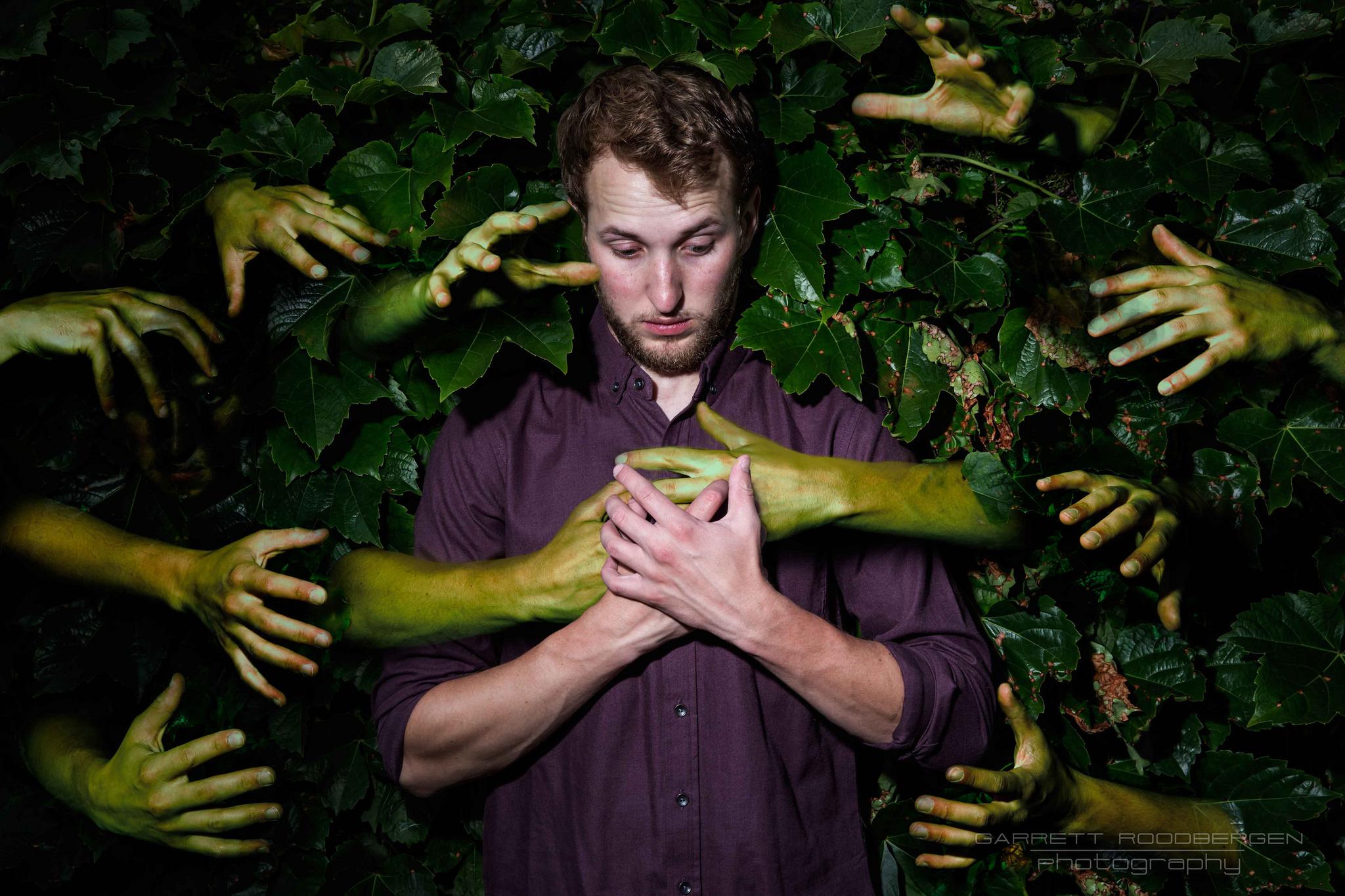 Grabbed by Nature #nature #zombie #letgo