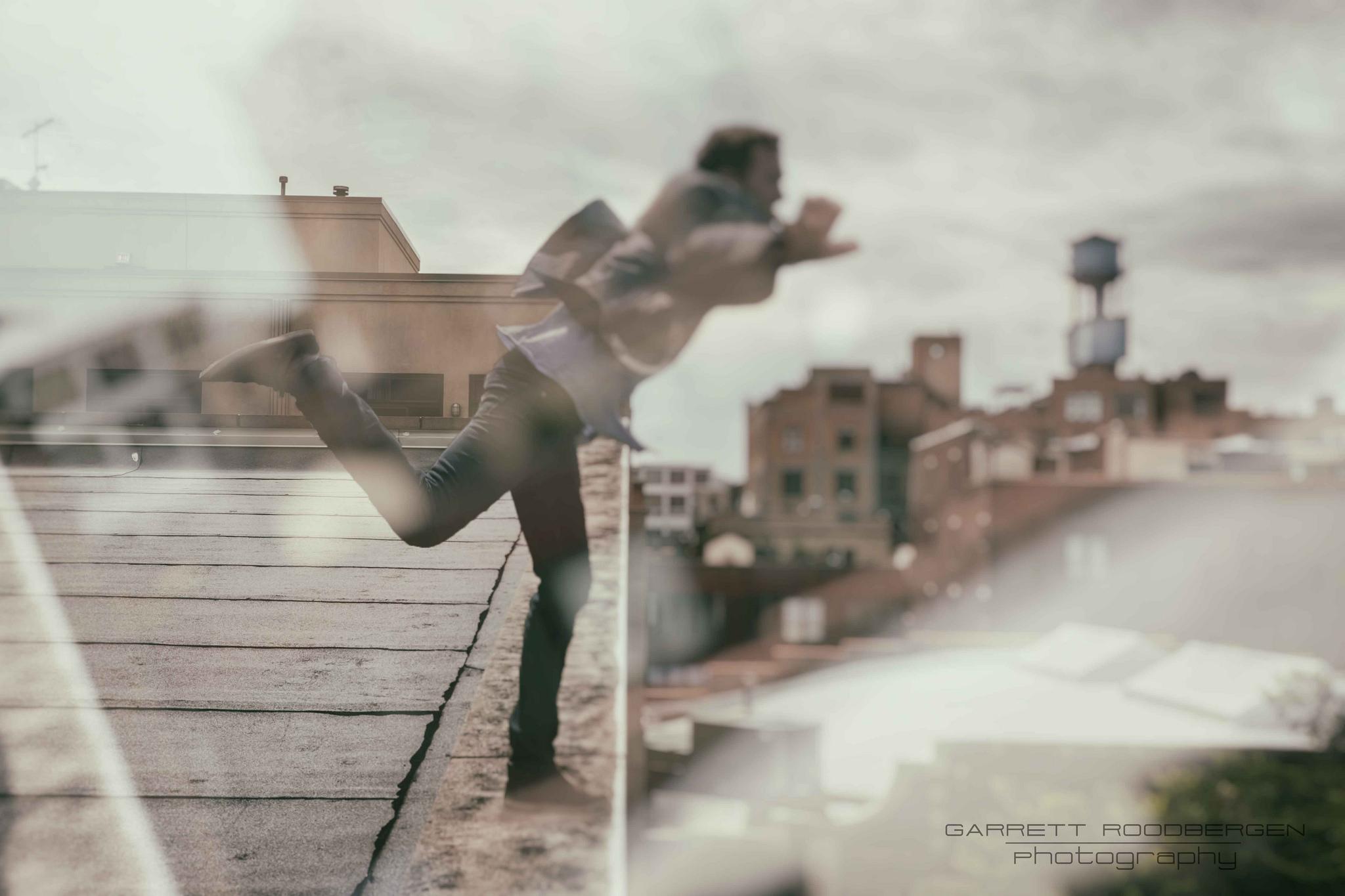 Leap of Faith #jump #photoaday #photoshop