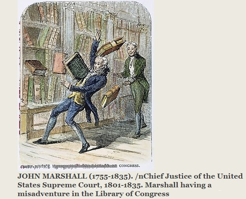 Dramatic reenactment of my time in the Library of Congress. Photo courtesy of College Humor.