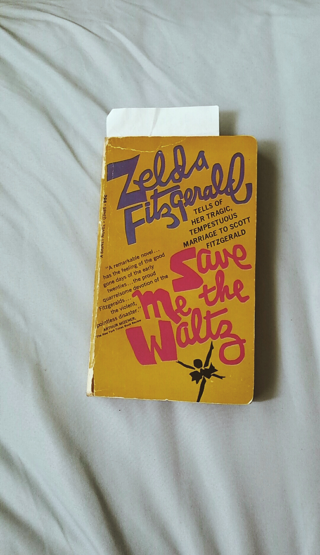 My beaten up copy of the book