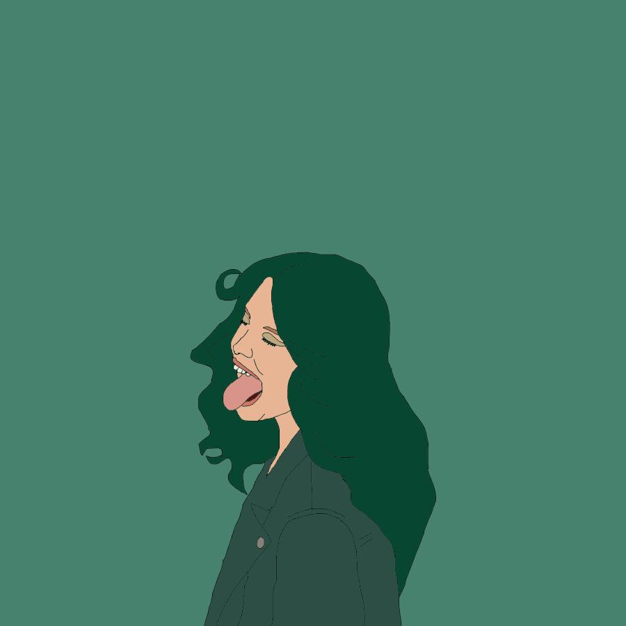 Green Gal (Based on 'Monochromatic' by Amanda Jasnowski) — May 2017