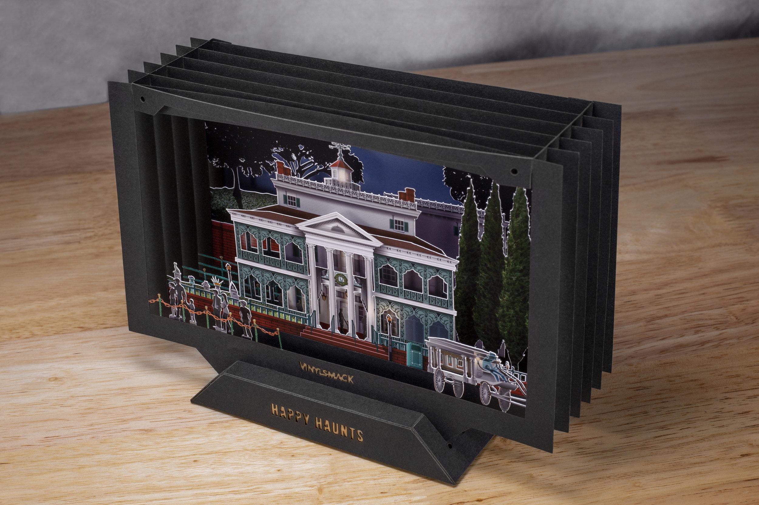 Haunted Mansion Diorama