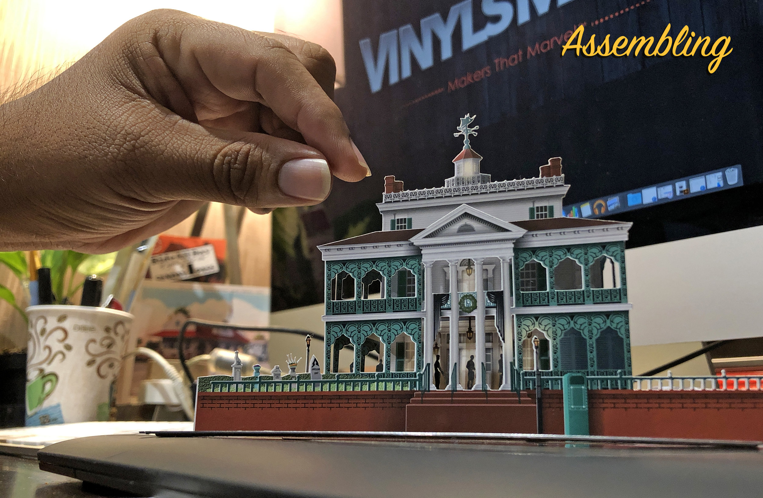 Assembling a Haunted Mansion