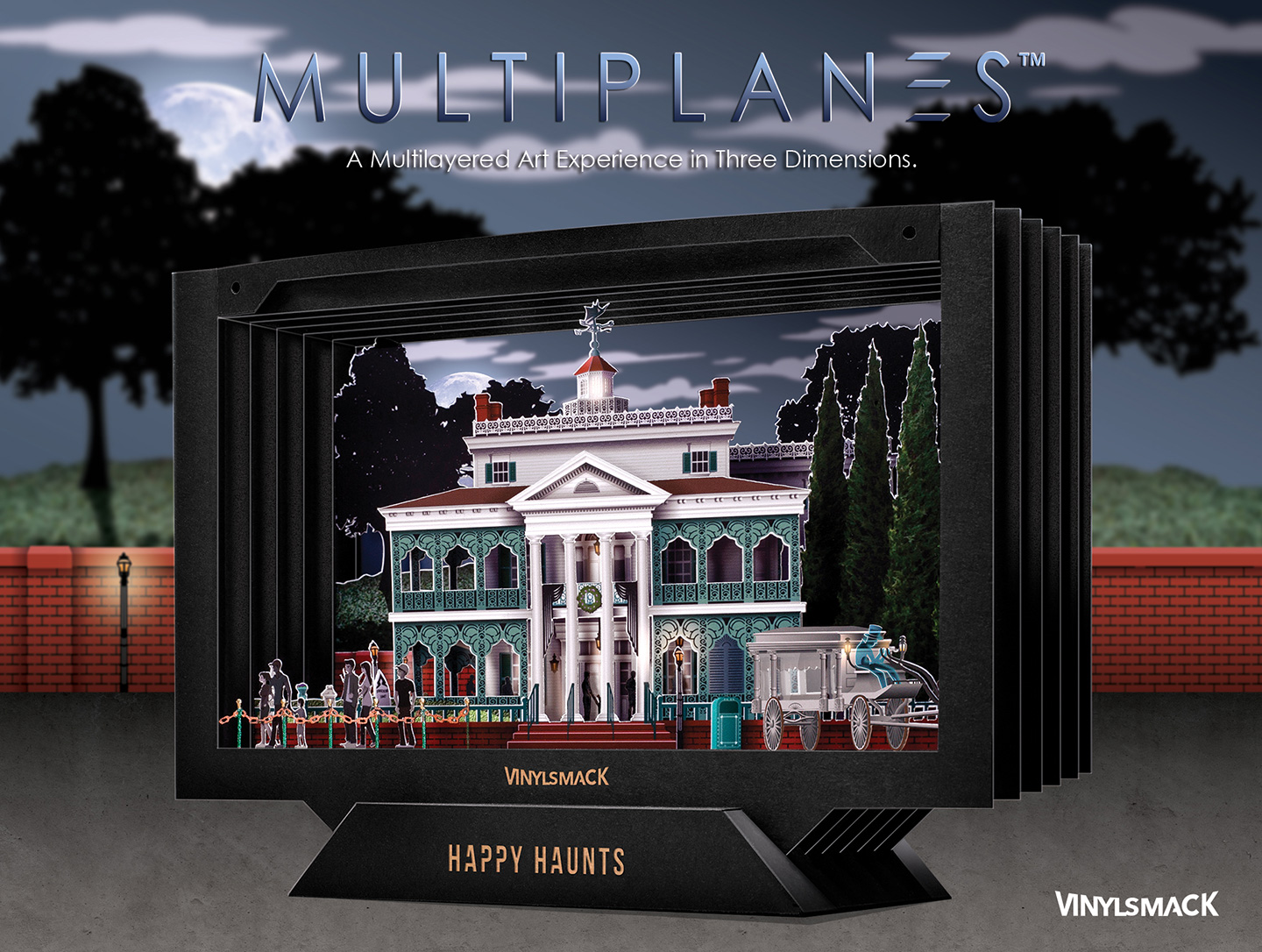 Haunted Mansion Retail Package