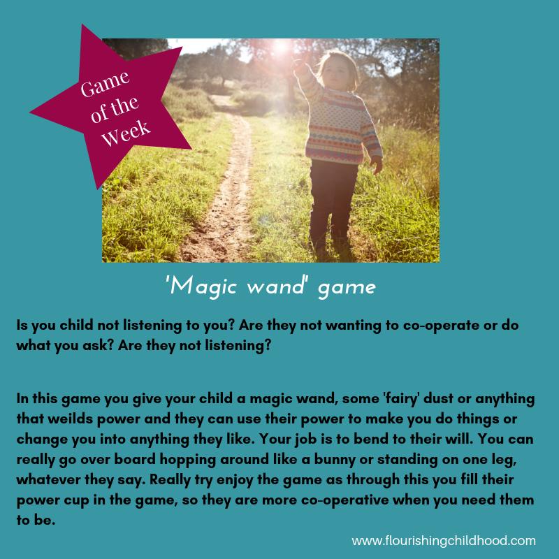 Magic wand game