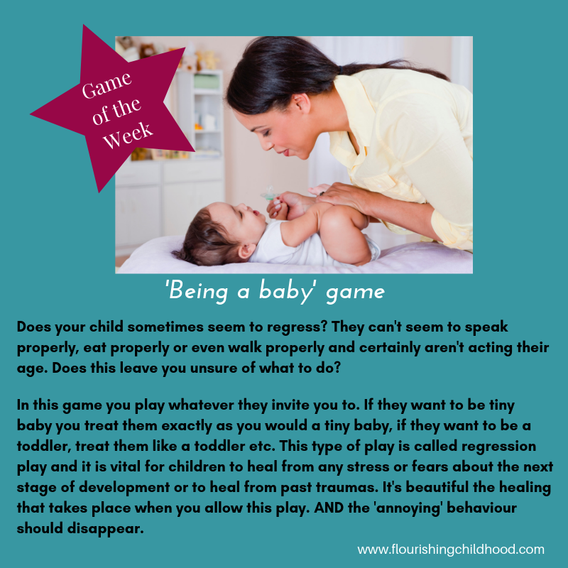 Being a baby game