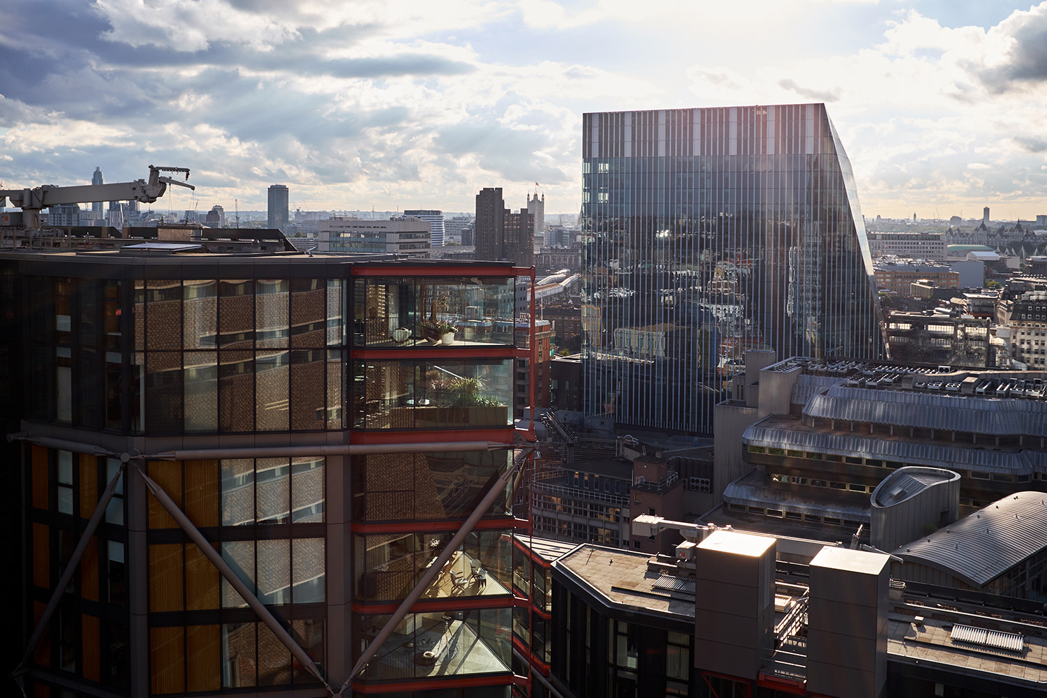 The View from the new Tate Modern Switch House extension. Somewhere I'm sure I'll visit often.