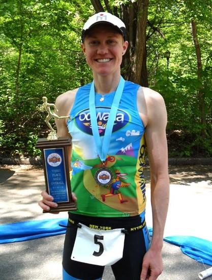 americký triatlonista Chris Mosier