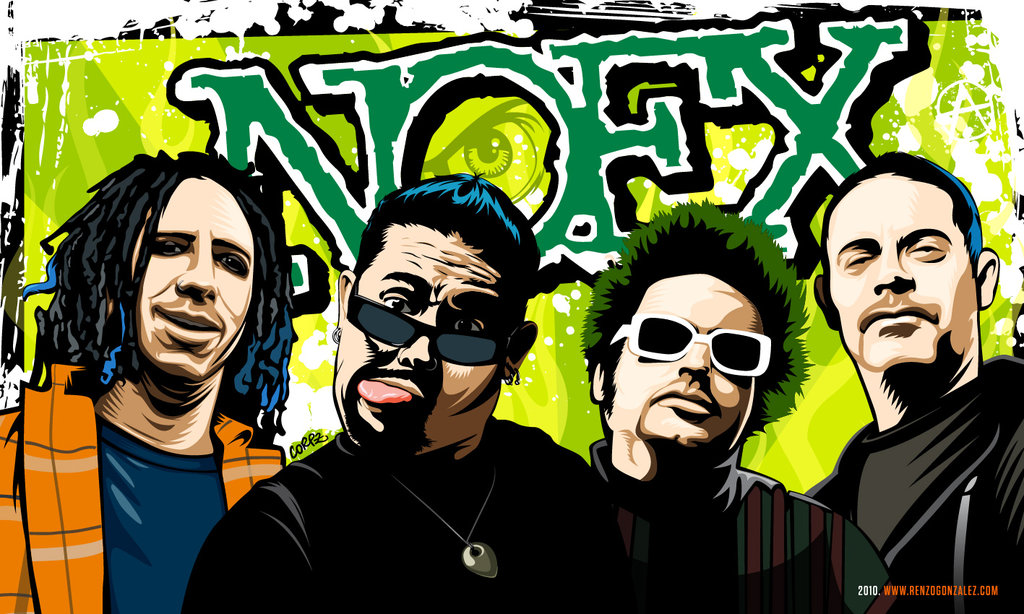 """What is there to say about  NOFX that hasn't already been answered with a snarky retort from Fat Mike himself? Pop punk's most famous mohawked bassist and his crew have been at it for three decades and counting, during which time they've burned more bridges than most people would have the time to build. But if you listen to the opening salvo of """"Six Years On Dope"""" — during which Mike and guitarist Eric Melvin bicker over who's going to do """"the yell"""" — you'll swear these merry pranksters are just getting started.  Maybe that's what makes  First Ditch Effort such an appealing name for the band's upcoming 13th (!) studio album. As with most things NOFX, this one's not a """"goodbye"""" or a """"see you later"""" but a triumphant """"fuck you!"""" to anyone who thought these guys didn't have another world-beater left in 'em. It just took a bit longer to squeak out than all the others; as the first NOFX album since 2012's   Self/Entitled  , it comes after the longest gap in the band's history."""