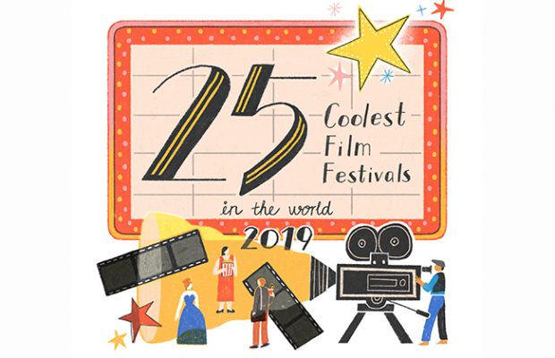"We're one of the 2019 "" 25 Coolest Film Festivals "" in the world!"