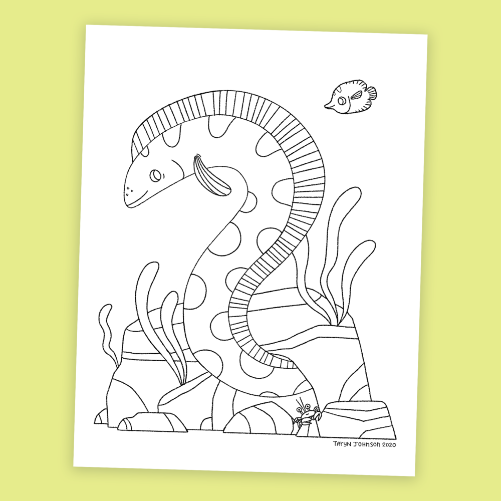 Coloring Pages Taryn Johnson