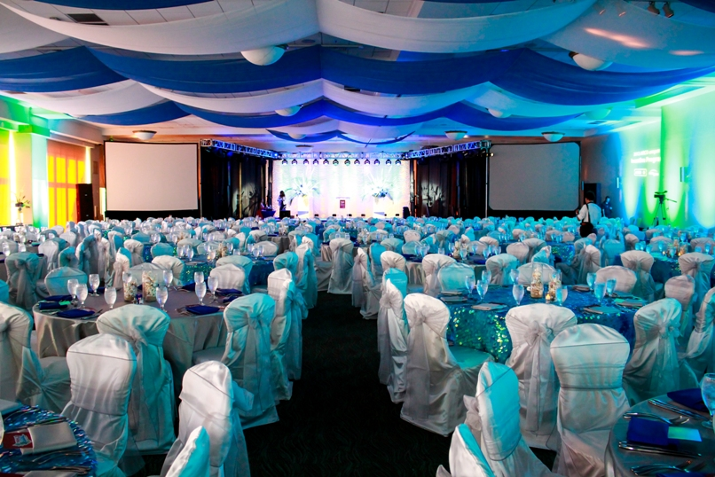 corporate event planning staging design