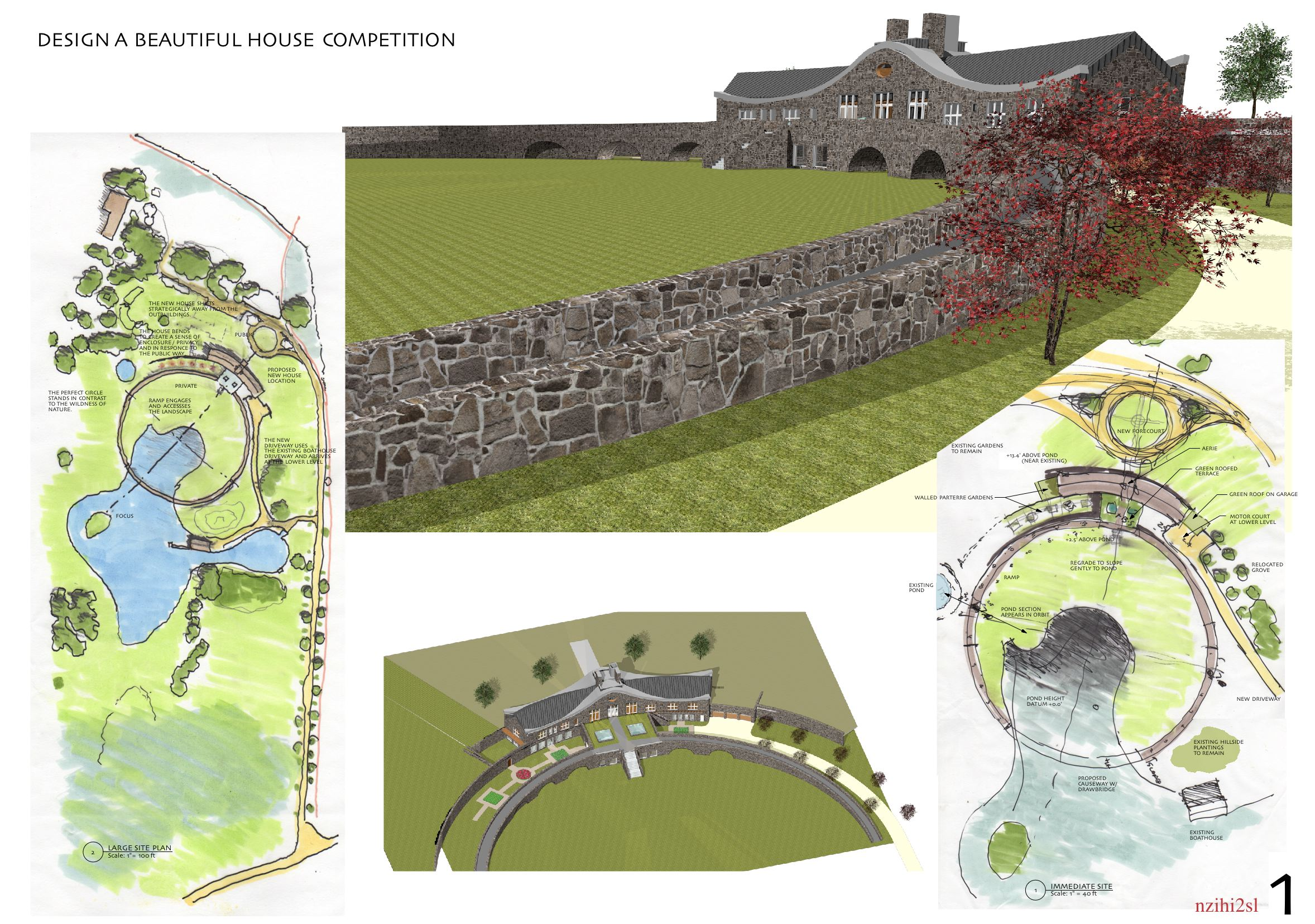 English Country House - competition