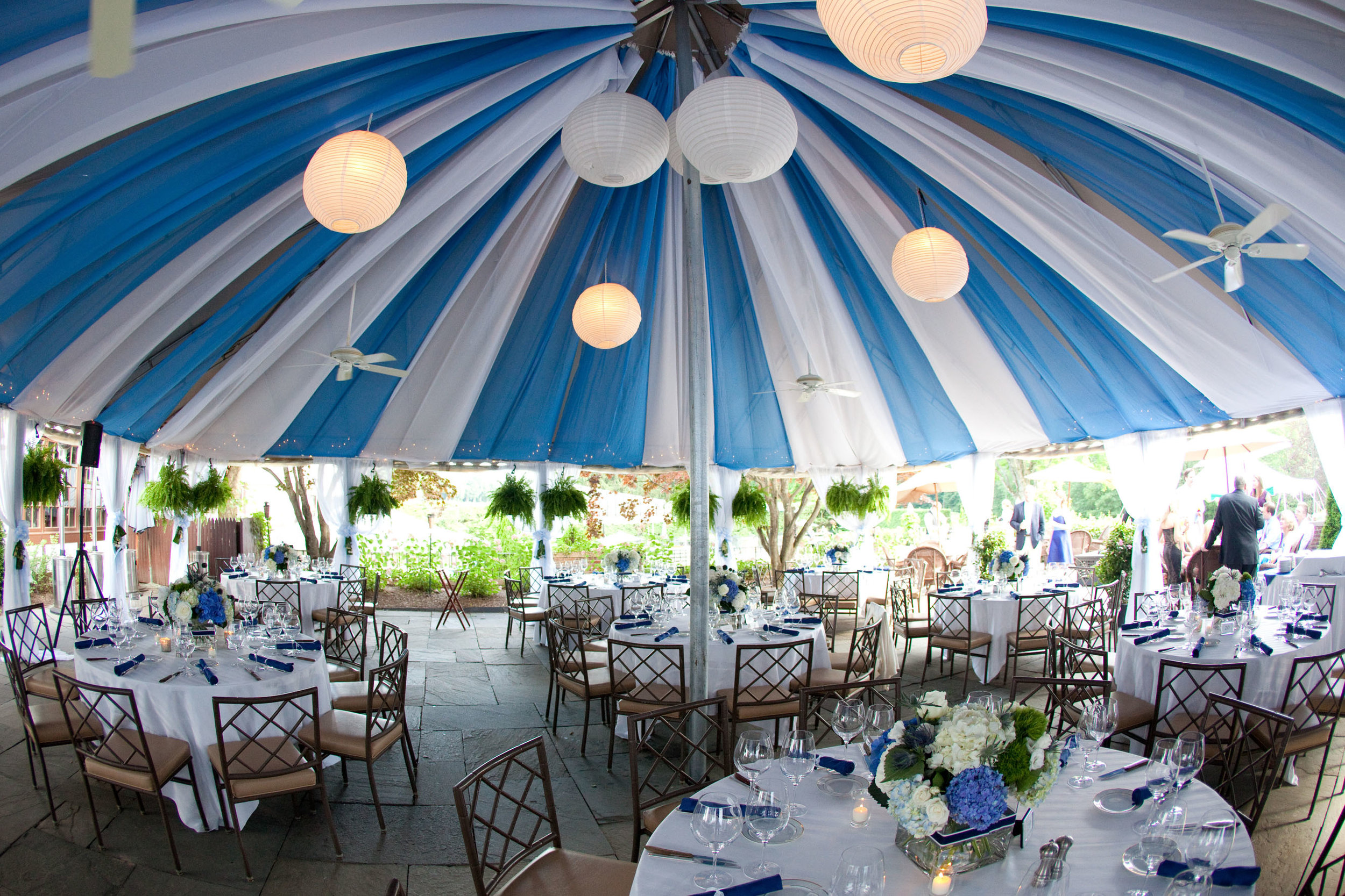 Courtyard Canopy - WEDDING READY!, Longmeadow CC