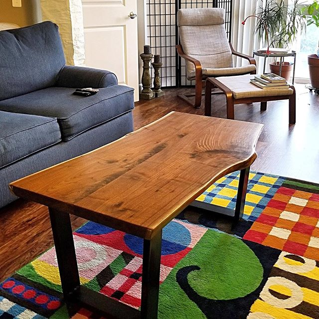 Coffee table we made for a customer in Virginia.