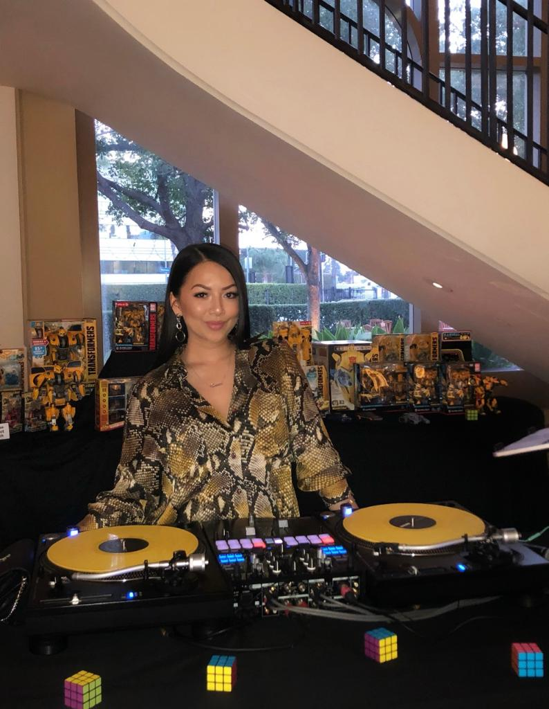 DJ Bella Fiasco Bumblebee Screening Prism DJs 2.JPG
