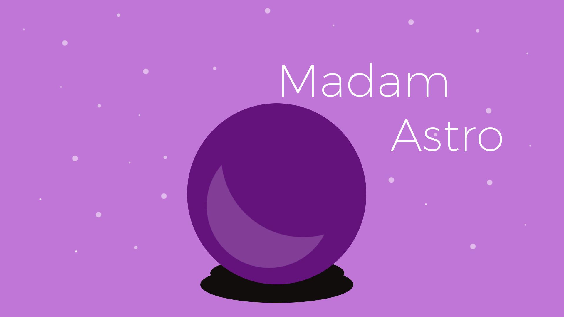 Madam Astro App Banner