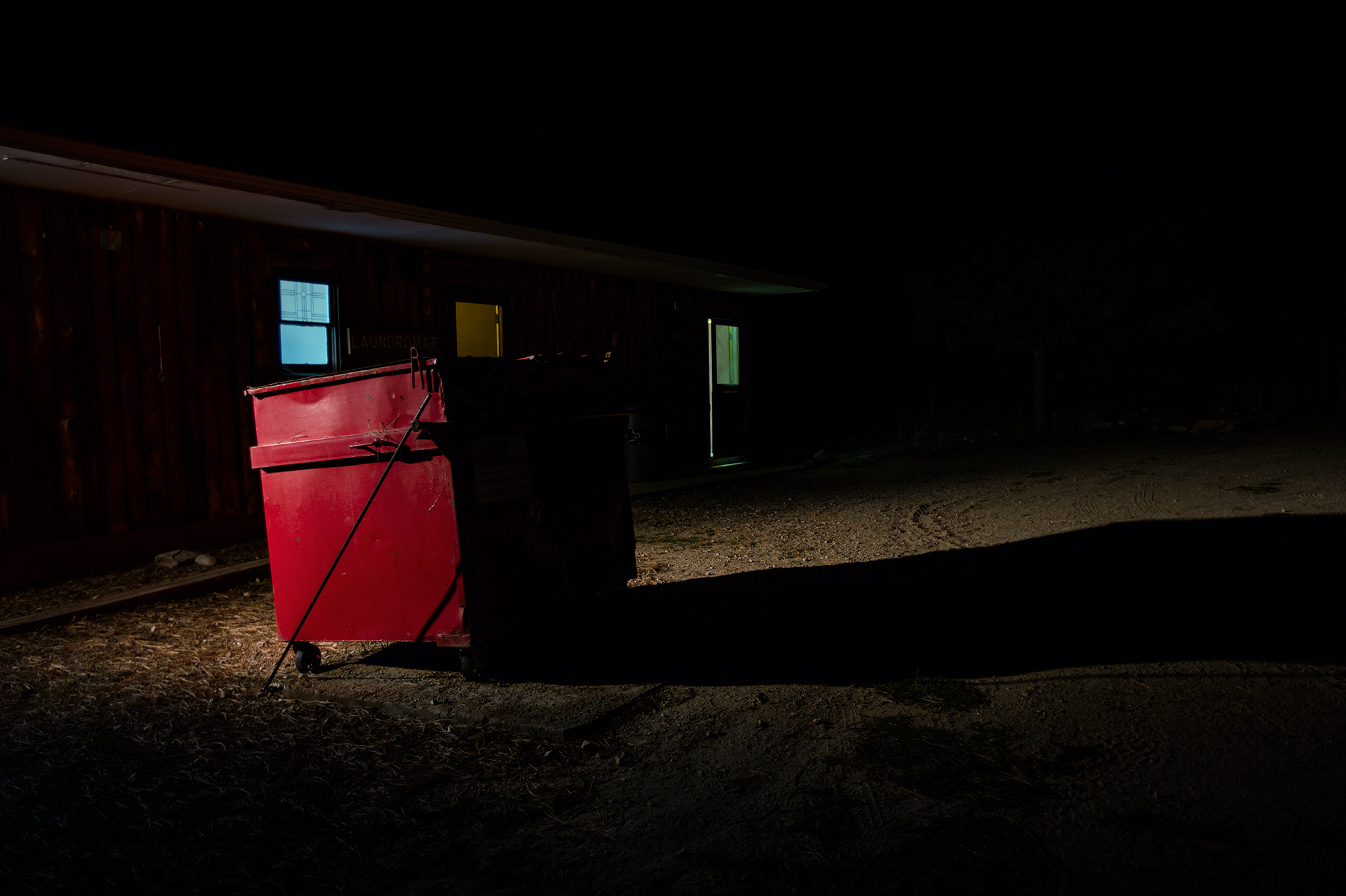 Remi Thornton, Red Dumpster. From JCC Ranch. Courtesy of Remi Thornton.