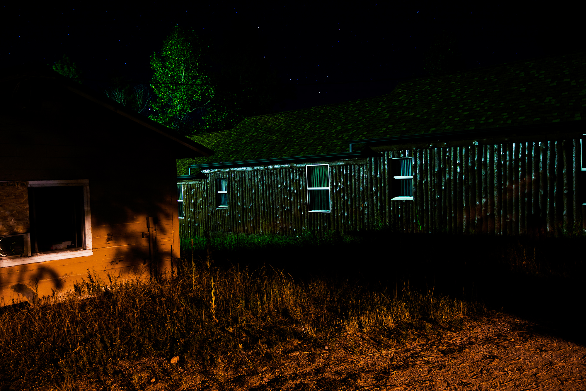 Remi Thornton, Cabin Windows. From JCC Ranch. Courtesy of Remi Thornton.