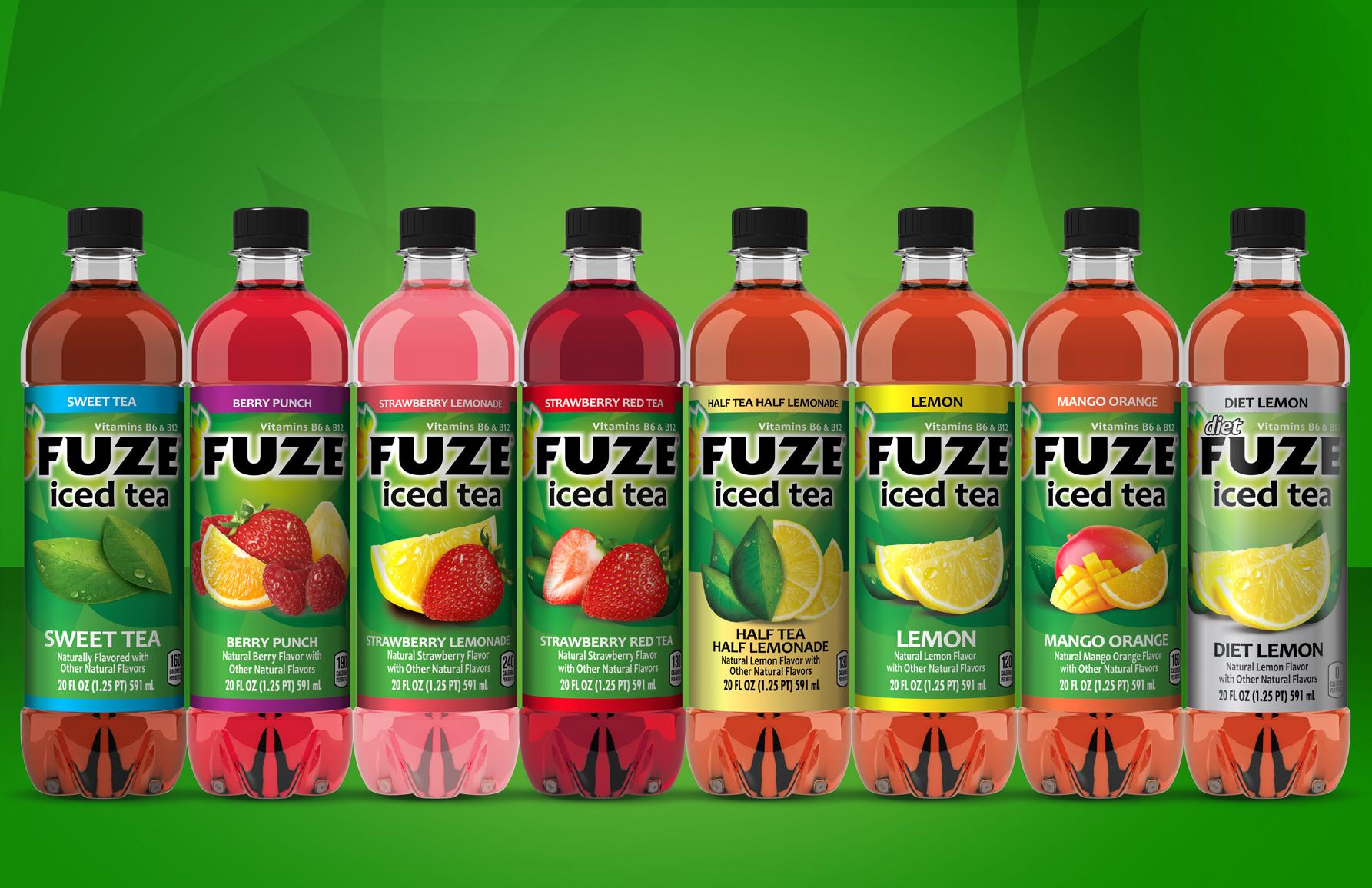 Fuze Iced Tea — JM Arcella