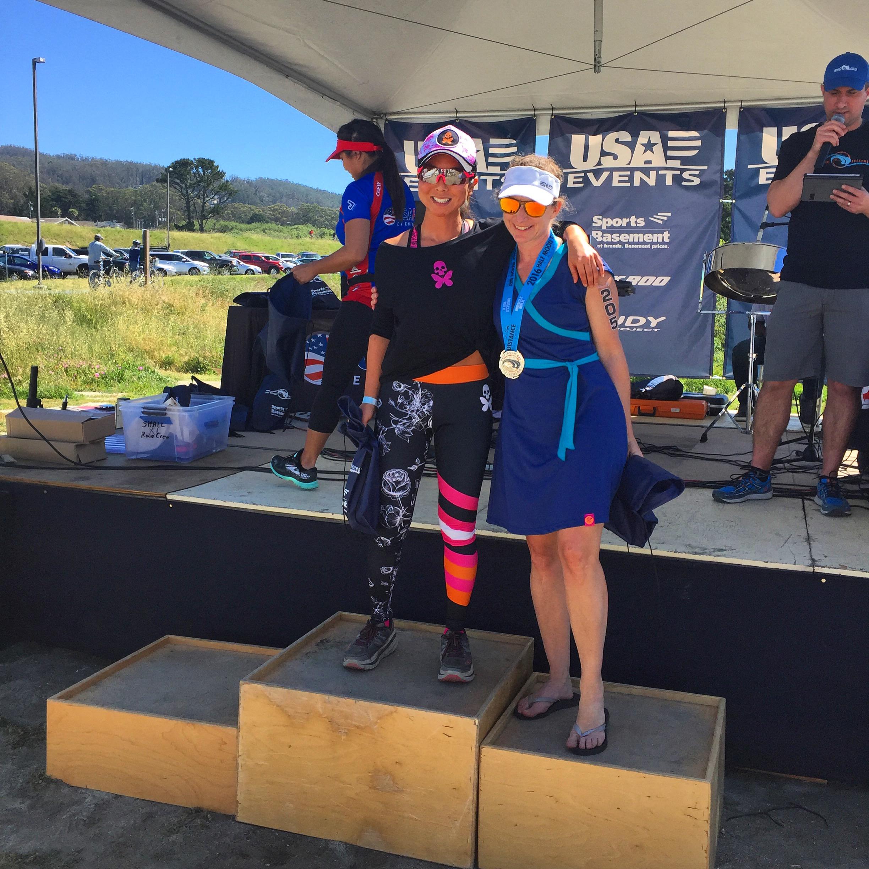 Julianne Kanzaki, MPH, RDN, Triathlete