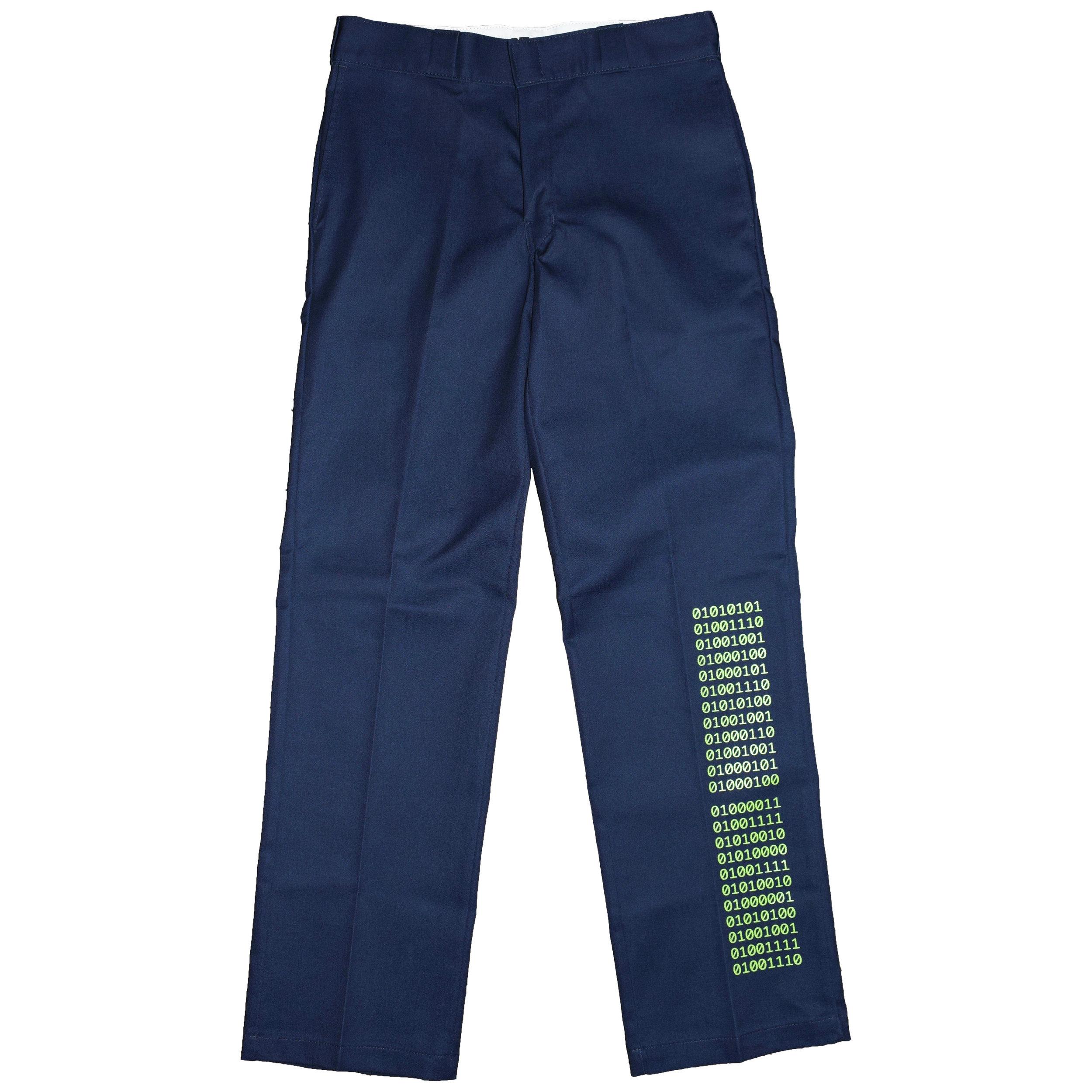 Binary Pants Navy Square.jpg