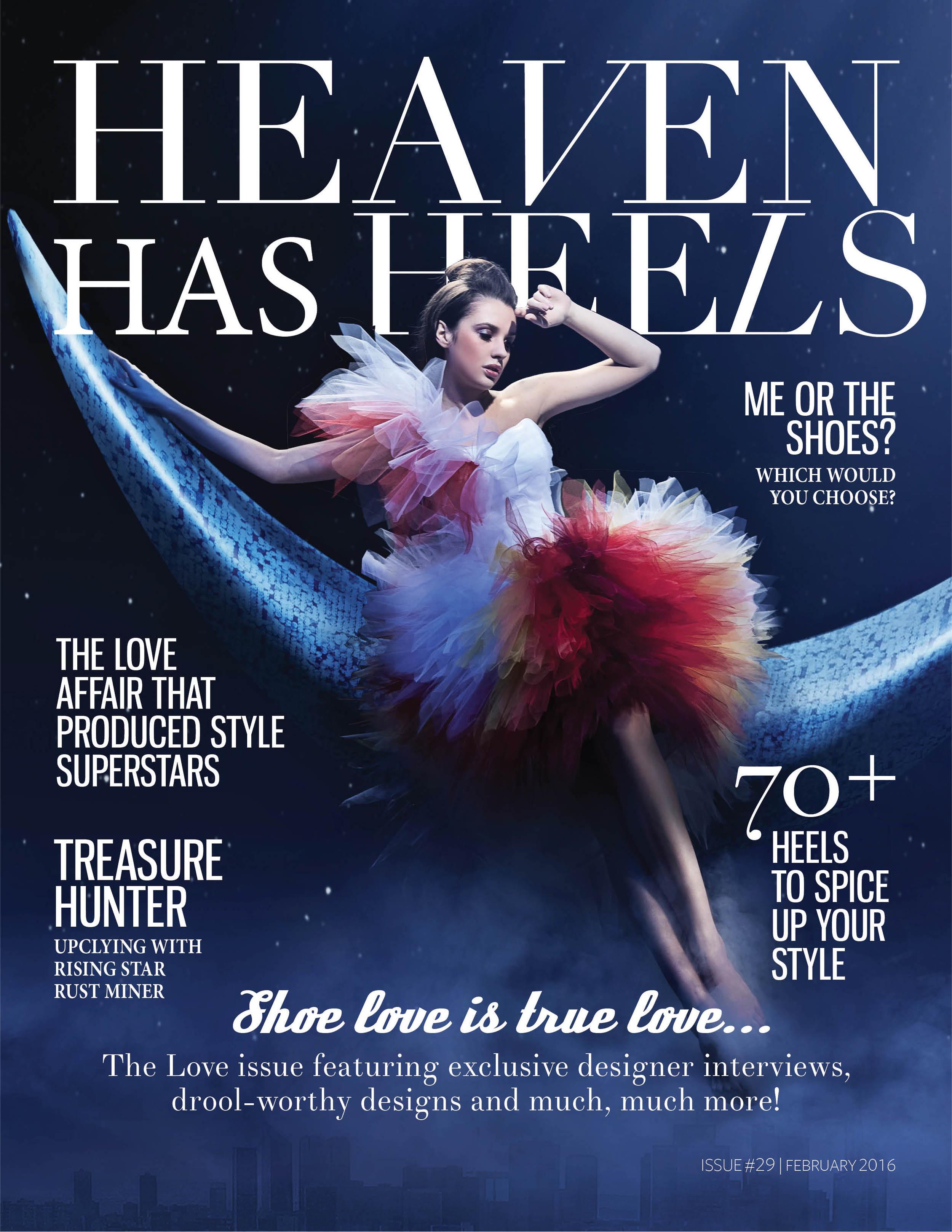 Heaven Has Heels Magazine