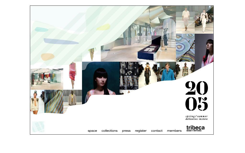 Site Design - Tribeca Issey Miyake
