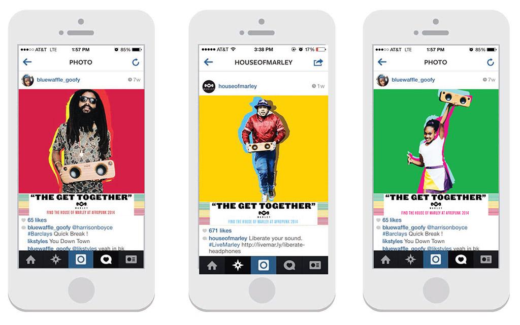 Social Media Design - House of Marley