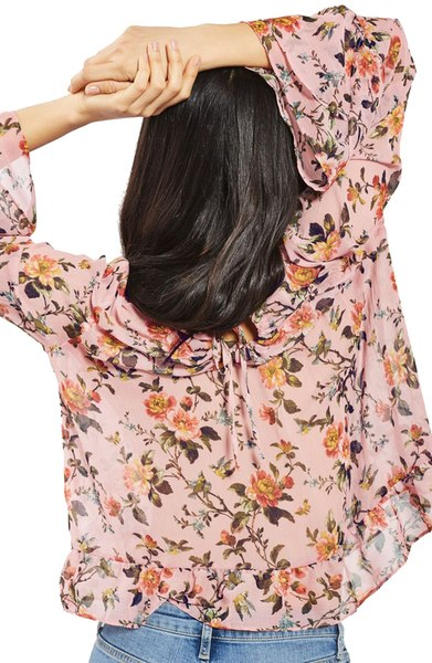 Such a beautiful top - perfect for Spring!