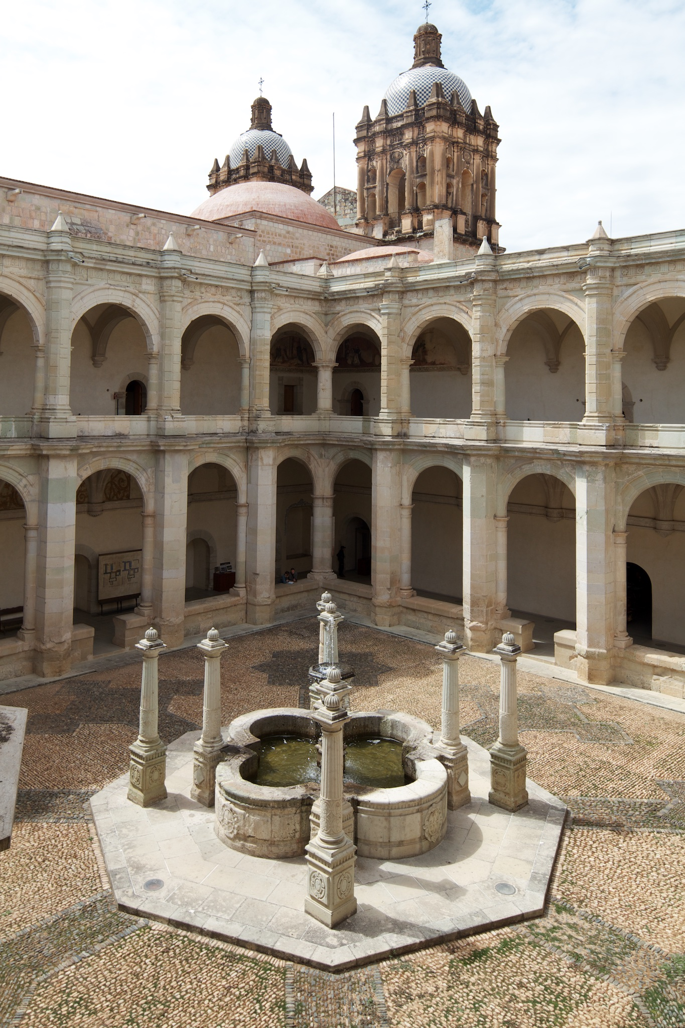 Main interior courtyard