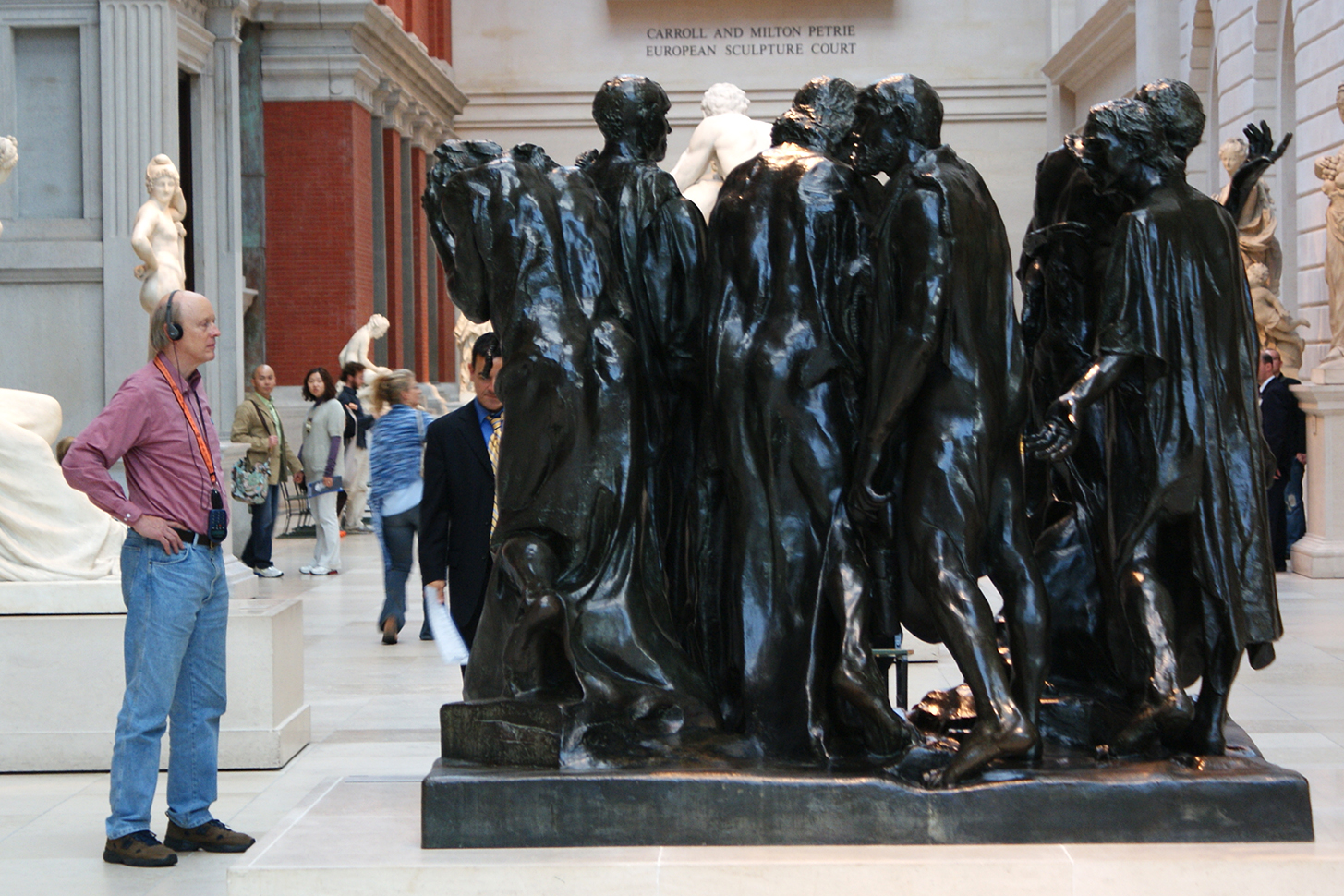 Auguste Rodin.   The Burghers of Calais  . The Metropolitan Museum of Art, New York.