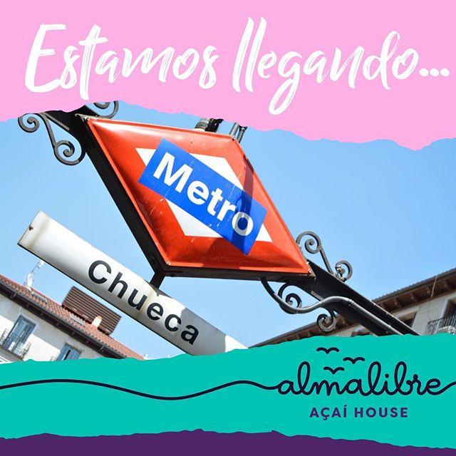 Próximamente podrás disfrutar de todo el #purplepower Almalibre en nuestro barrio favorito de Madrid 💜