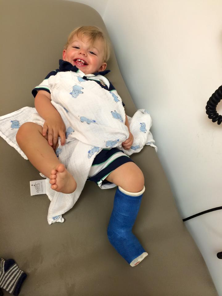 May 12, 2015 ·   Our day started with smiles and ended with smiles, even with tibia breaks and casts in between.