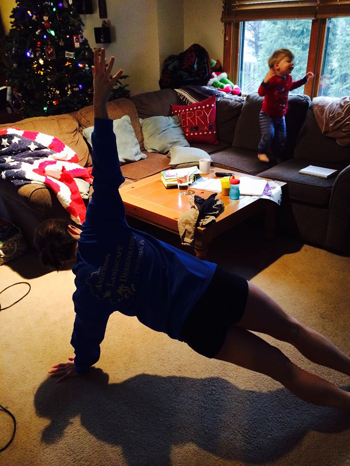January 10 ·   Welcome to the nuthouse. A place where I do planks in rooms that Christmas trees still stand, and toddlers use furniture as trampolines.